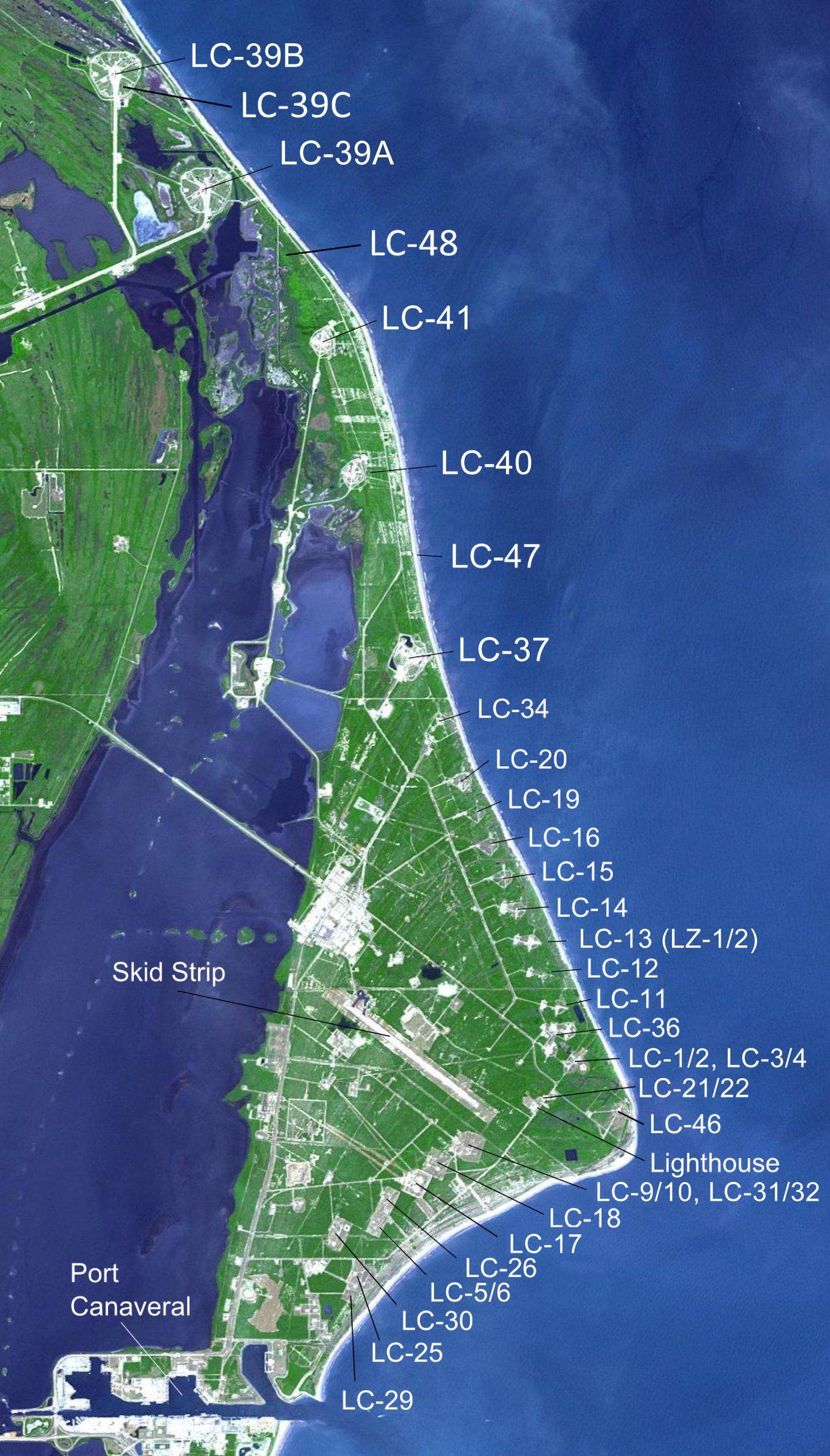Launch Sites Map